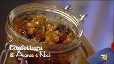 VIDEO LA7: 2 kg di arance non trattate, 800 gr di zucchero di canna, 200 gr di uva passa, 150 gr di noci