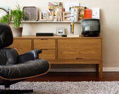 IKEA STOCKHOLM TV unit, golden brown $329.00