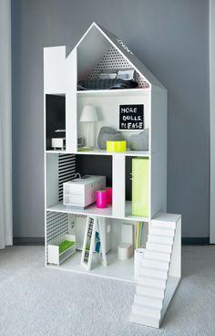Ola Wołczyk – architekt wnętrz » projekty domów, mieszkań i obiektów użyteczności publicznej » Domek dla lalek – Boomini White