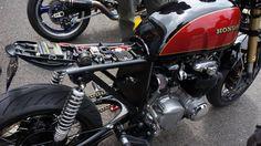 Honda CB550 Cafe Racer Electronics
