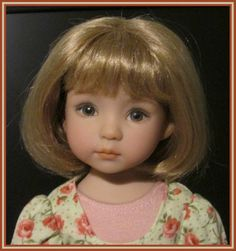 Dianna Effner Little Darling Lily by Geri Uribe with outfit and two wigs