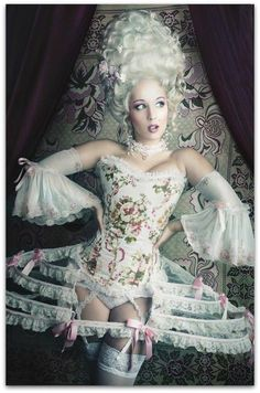 Homemade Marie Antoinette Costume Ideas.