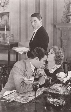 """1927. Mary Pickford and Buddy Rogers in """"My Best Girl""""."""