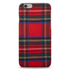 Red Green Tartan Scarf Pattern 3D Printed Design iPhone 6 Plus Hard Case Protective Cover Shell. PLEASE NOTE: This fits the iPhone 6 Plus (5.5) ONLY. Protects the back and sides of your iPhone 6+ PLUS (5.5). Long-lasting, high-quality print. Full 3D print, design covers all sides of the case. All ports and buttons fully accessible.