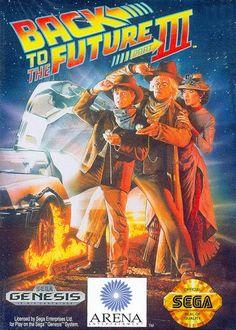 Back to the Future III Sega Genesis