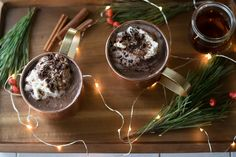 Chocolate Shavings, Hot Chocolate, Hot Buttered Rum, Vanilla Paste, Bean Paste, Unsweetened Cocoa, Whipped Cream, Cookie Dough, A Food