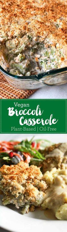 Vegan Broccoli Casserole