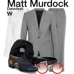 Inspired by Charlie Cox as Matt Murdock on Daredevil.