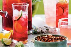 12 Non-Alcoholic Fourth of July Drinks - Southernliving. Cool off with refreshing beverages for all to enjoy.    Outdoor Fourth of July parties call for cold, refreshing beverages. These tasty, non-alcoholic drinks are for all ages to enjoy and pair well with burgers, barbecue, and sweltering afternoon temperatures. Beat the Southern summer heat with a colorful big-batch punch or easy-to-make tropical mocktail. Mix up a pitcher of Classic Southern Sweet Tea, or whip out the blender for a sl