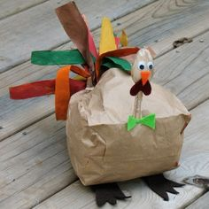 11 Thanksgiving crafts for Thanksgiving crafts for kids. Large collection of simple and fun crafts for kids to decorate and celebrate Thanksgiving.Second chance to dream - 15 Kids Thanksgiving CraftsPaper Bag Turkey by Amanda Thanksgiving Preschool, Thanksgiving Crafts For Kids, Holiday Crafts, Holiday Fun, Thanksgiving Turkey, Happy Thanksgiving, Thanksgiving Celebration, Preschool Christmas, Spring Crafts