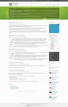 Website creation for Aru2L - 2012 - France - www.aru2l.org
