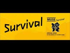 Survival - Muse (Official Song of the London Olympic Games) [HQ] - with Lyrics