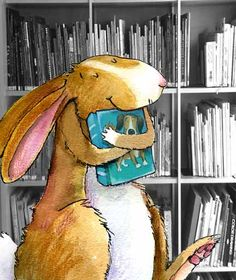 Animals Reading Week Illustration by Deborah Melmon I Love Books, Good Books, My Books, Library Books, Lapin Art, Reading Art, Bunny Art, World Of Books, Children's Book Illustration