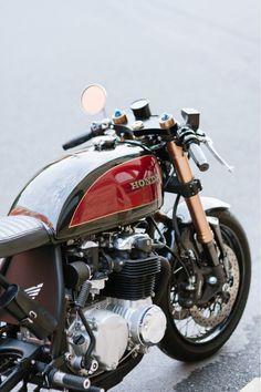 Honda CB550 by Devin Henriques. | 8negro