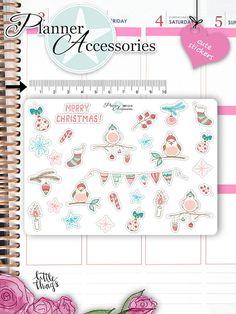 Christmas StickersChristmas Sticker von EmelysPlannerShop auf Etsy