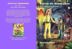"""""""Verrat im Wankuland"""", Kinderbuch, Alter 5-7, ab sofort bei AMAZON und BARNES & NOBLE erhältlich. Info: http//www.actionengel.com"""