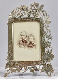 Online veilinghuis Catawiki: Art nouveau / Jugendstil Koperen fotolijst - ca. 1900