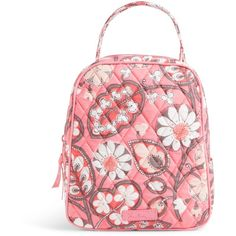 Vera Bradley Lunch Bunch Bag in Blush Pink ($34) ❤ liked on Polyvore featuring home, kitchen & dining, blush pink and vera bradley