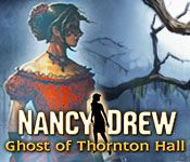 Nancy Drew: Ghost of Thornton Hall - http://www.allgamesfree.com/nancy-drew-ghost-of-thornton-hall/  -------------------------------------------------  Jessalyn Thornton's fateful sleepover at the abandoned Thornton estate was supposed to be a pre-wedding celebration, but the fun ended when she disappeared. While her family searches for clues, others refuse to speak about the estate's dark past. Did something supernatural happen to Jessalyn, or ...  -------------------