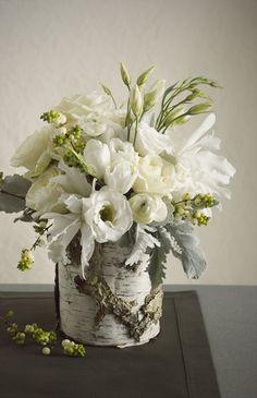Birch vase - ? too rustic?