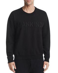 7 For All Mankind Embossed Logo Crewneck Sweatshirt