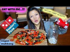 DOMINO'S PIZZA • VEGAN MUKBANG - YouTube