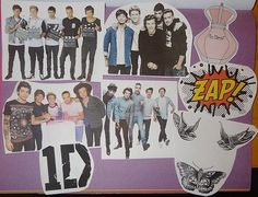 One+Direction+Sticker+Pack+by+MajesticallyUnique+on+Etsy