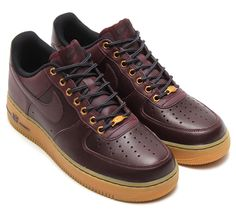 Nike Air Force 1 Low Workboot Pack Burgundy - Available 11/14