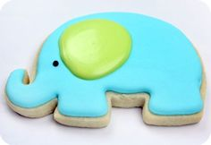 Recipe for sugar cookies that won't lose their shape, plus decorating tips. (Sweetopia)