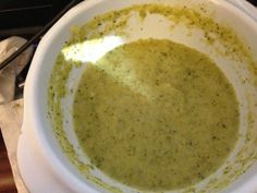 Cream of Broccoli Soup (The Plan) Recipe via @SparkPeople