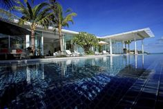 The Best 5 Swimming pools in Luxury Villas. Stunning villas with great pool