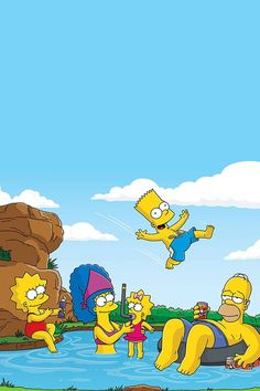 Simpsons Desktop Wallpaper Free Download