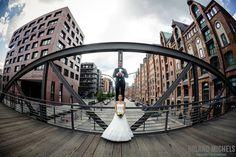 Hamburg Harbour City on site shooting #wedding #destination #shooting
