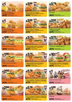 Novos Vales de desconto KFC - validade até 15 janeiro