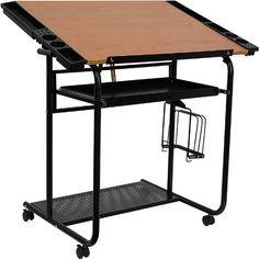 Flash Furniture NAN-JN-2739-GG Adjustable Drawing/Drafting Table with Black Frame and Dual Wheel Casters Flash Furniture http://www.amazon.com/dp/B0035CA96U/ref=cm_sw_r_pi_dp_yc3evb0N1DPBV