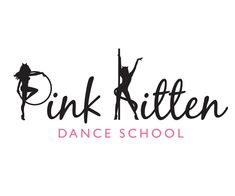 Pink-Kitten-Dance-School-logo-design-uk.png (600×500)