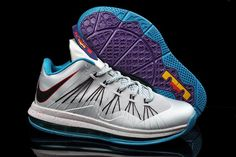 dbe53918b5b Lebron 10 Low Akron Aeros Hornets Silver Teal 579765 002 Cheap 10 Low For  Cheap Sale