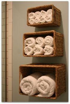 Inspiration : Organisation salle de bain - Deco à gogo >> Le blog de deco où l'on parle aussi de deco
