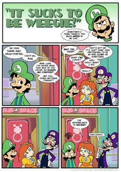 Sucks to be Weegie: Nemesis by kevinbolk on DeviantArt Gamer Humor, Gaming Memes, Super Smash Bros, Super Mario Bros, Super Mario Memes, Mario Funny, Mario Comics, Mario And Luigi, Nerd Geek
