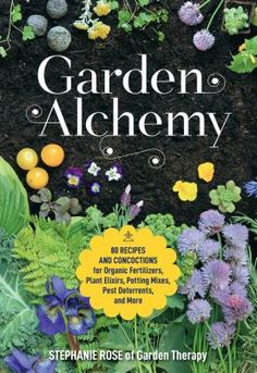 Garden Alchemy is a hands-on guide for DIY gardeners who love to make things (and save money doing it!). This gardening project book is packed with creative and useful garden-related products you can make yourself. Each customizable project allows you to reduce expenses and fix common garden problems with minimal effort. This fun and beautifully illustrated book is packed with ideas and inspiration for gardeners who want to embrace their creativity and have more control of the garden's care.