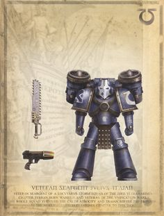 Warhammer 40k Horus Heresy Ultramarines Captain