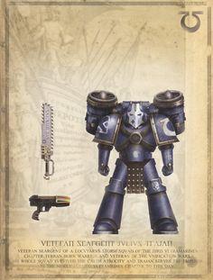 Warhammer 40k Horus Heresy Ultramarines Captain