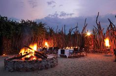 Boma Dinners at Leopard Hills Private Game Reserve, Sabi Sand Game Reserve