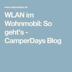 WLAN im Wohnmobil: So geht's - CamperDays Blog