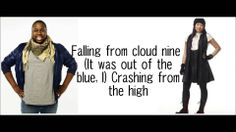 GLEE-Wide awake with lyrics