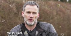 Stephen Moyer behind the scenes of TBX