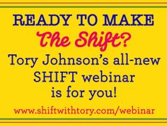 Join me for a LIVE webinar 12/10!