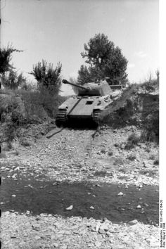 Panther tank, Italy 1944