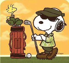Golf Humor, Funny Golf, Thema Golf, Snoopy Und Woodstock, Charlie Brown Y Snoopy, Golf Sport, Golf Card Game, Golf Etiquette, Dubai Golf