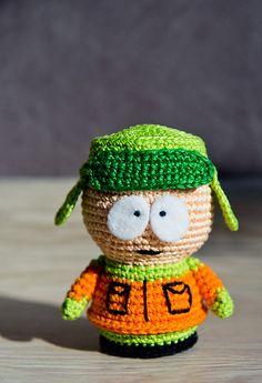 """Ravelry: Crochet Pattern of Kyle Broflovski from """"South Park"""" pattern by Olka Novitskaya"""